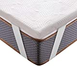 BedStory Matratzentopper 140 x 200 cm, 5cm Höhe Gel Topper mit Abnehmbarer und...