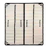 i-flair® Lattenrost 180x200 cm, Lattenrahmen für alle Matratzen geeignet -...